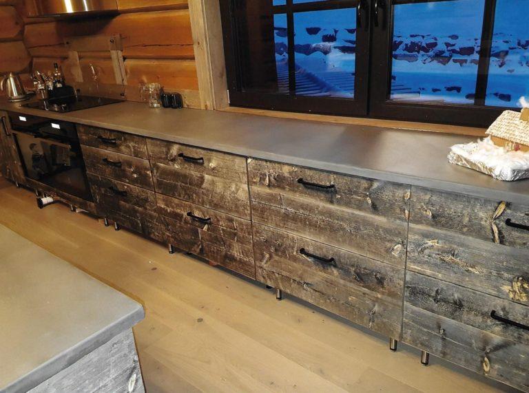 rustic panel